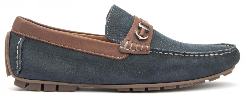 Bali Ornament - Navy Chocolate Nubuck