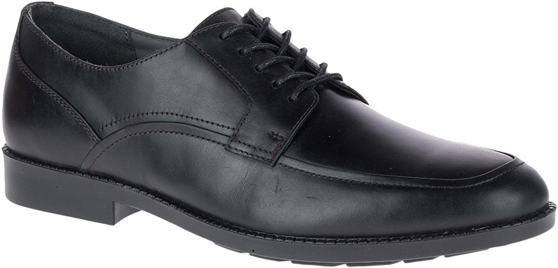 Bloodhound Oxford - Black Waterproof Leather