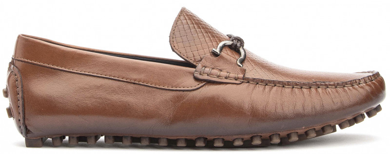 Ipanema Buckle - Tan Leather