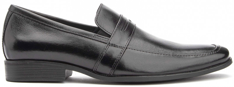 Creta MT Slip-On - Black Leather