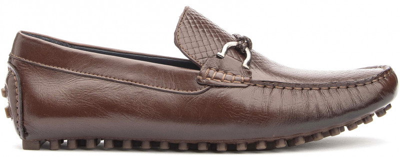 Ipanema Buckle - Brown Leather
