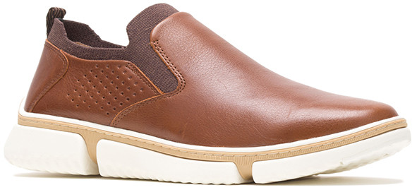Bennet Plain Toe Slip-On - Cognac Leather