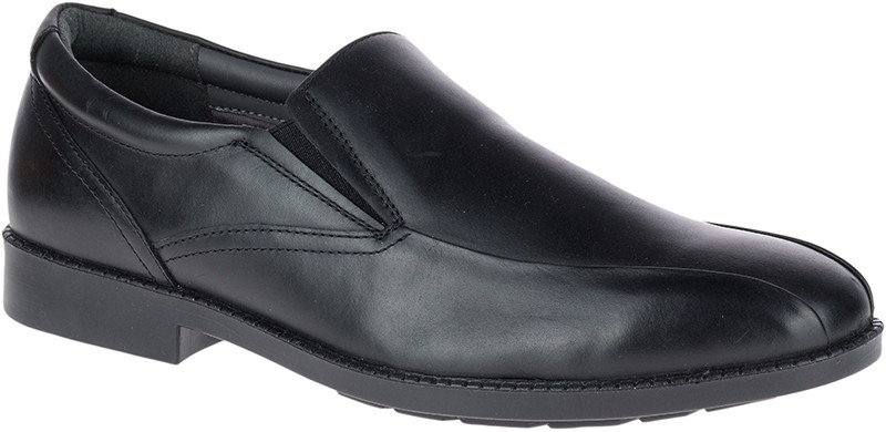 Bloodhound BT SlipOn - Black Waterproof Leather