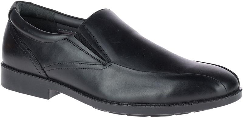 Bloodhound BT SlipOn - Black Waterproof Leather