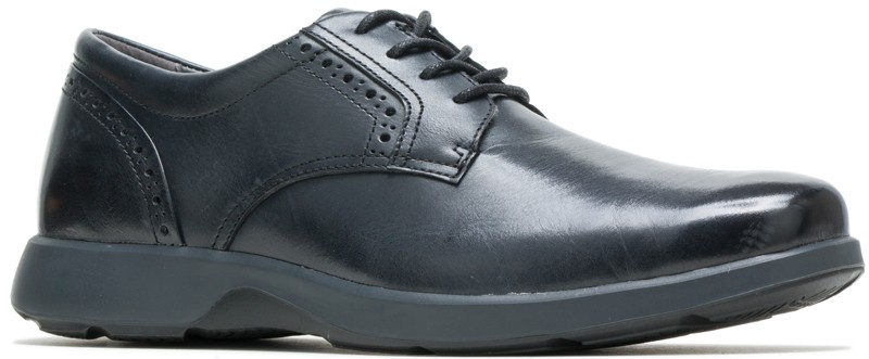 Wolfhound PT Oxford – Black Leather