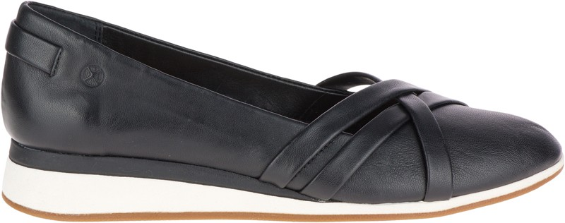 Evaro Strap Ballet - Black Leather