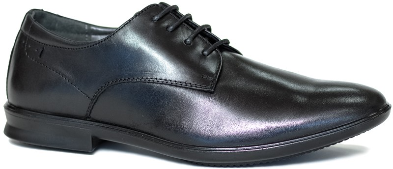 Stratos Oxford PT - Black Leather