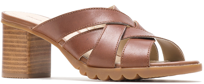Griffon DBL X Slide - Tan Leather