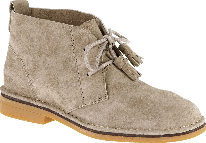 Cyra Catelyn - Taupe suede