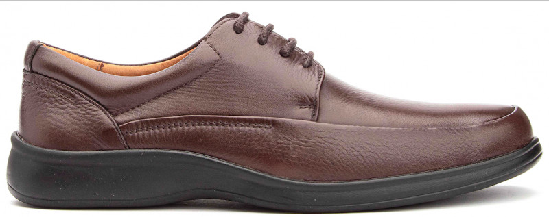 Cushion MT Oxford - Brown Leather