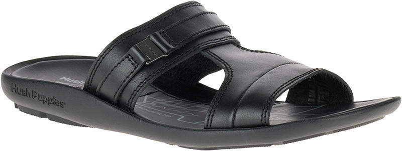 Effie Pivot - Black Leather