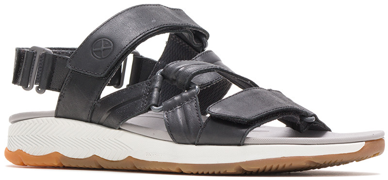 Puli Backstrap - Black leather