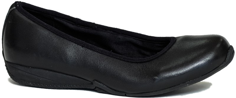 SummerSage (bailerina) - Black Napa Leather