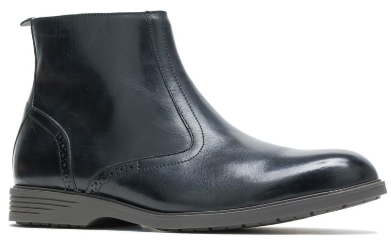Shepsky Zip Boot - Black Leather
