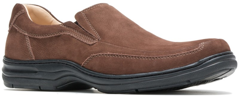 Bullmatian SlipOn - Dark Brown Nubuck