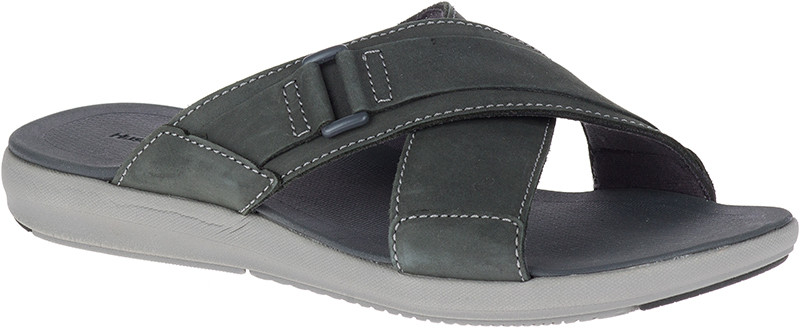 Leonberger Slide - Granite Grey Nubuck