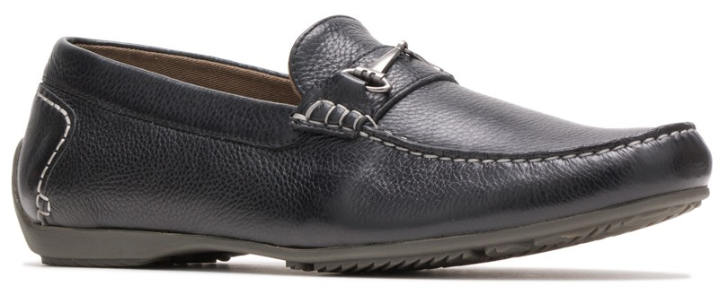 Schnauzer Bit - Black Leather