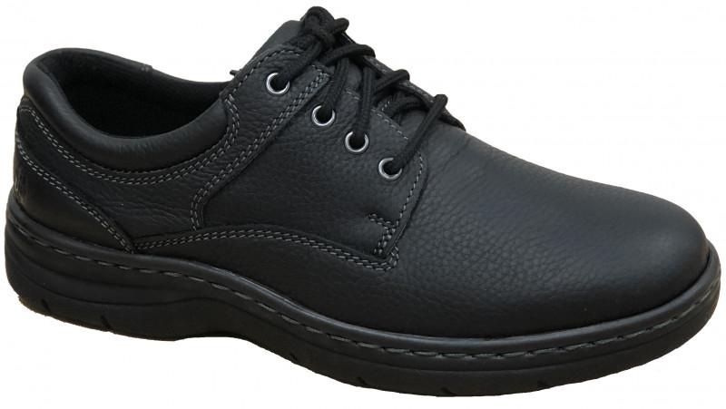 Achieve Plain Toe - Black Pitstop Leather