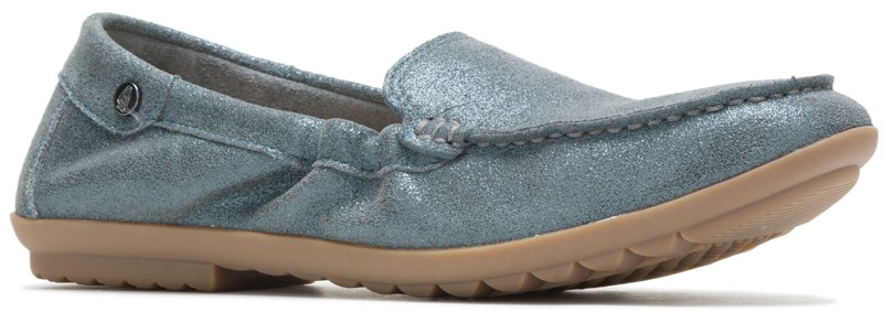Aidi Mocc Slip-On - Storm Mettalic Suede