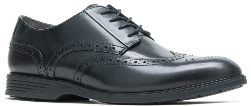 Shepsky WT Oxford - Black Leather