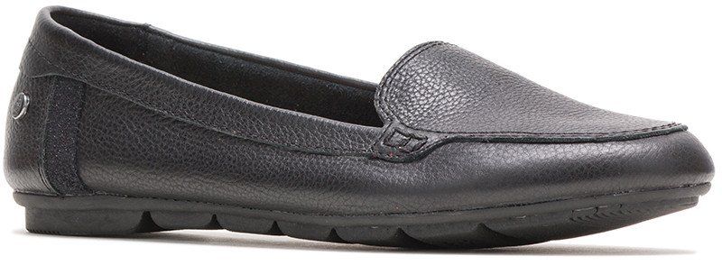 Abby Loafer - Black Leather