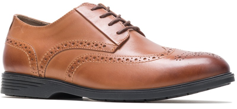 Shepsky WT Oxford - Dark Tan Leather