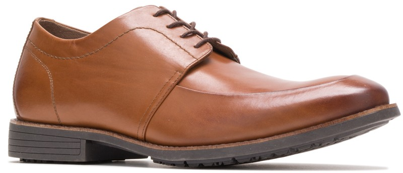 Mudi MT Oxford - Dark Tan Leather