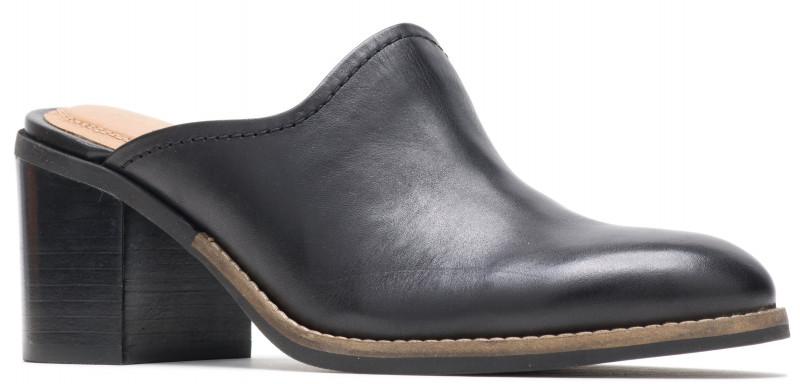 Hannah Mule - Black Leather
