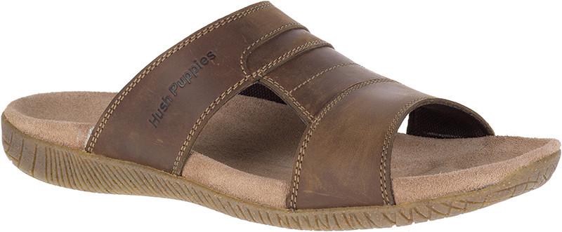 Mutt Slide - Brown Leather