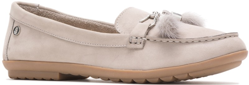 Aidi Puff Loafer - Ice Grey Nubuck