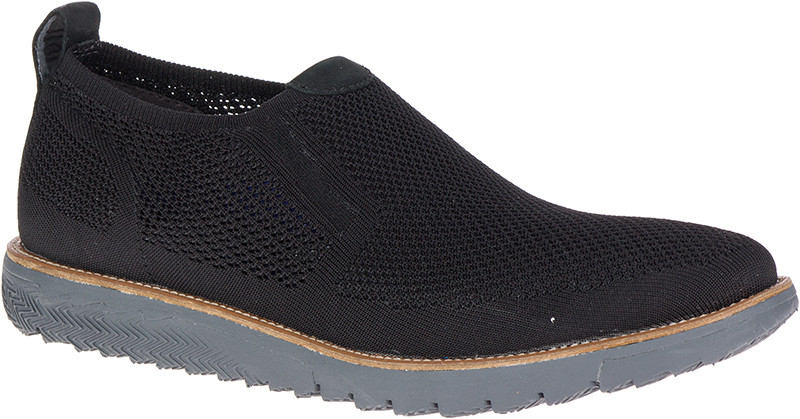 Expert MT SlipOn - Black Knit Nubuck
