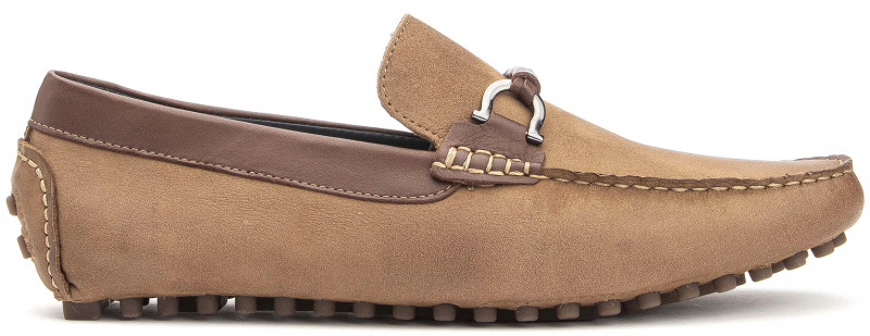 Ipanema Buckle - Tan Nubuck