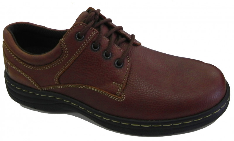 Achieve Plain Toe - Brown Pitstop Leather