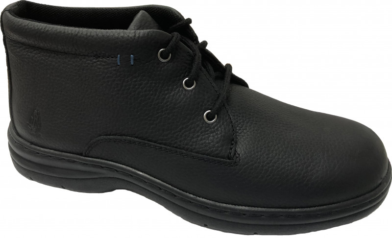 Achive Mid PT - Black Pitstop Leather