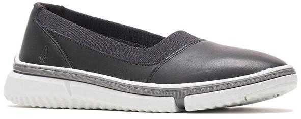 Remy Plain Toe Slip-On - Black Leather