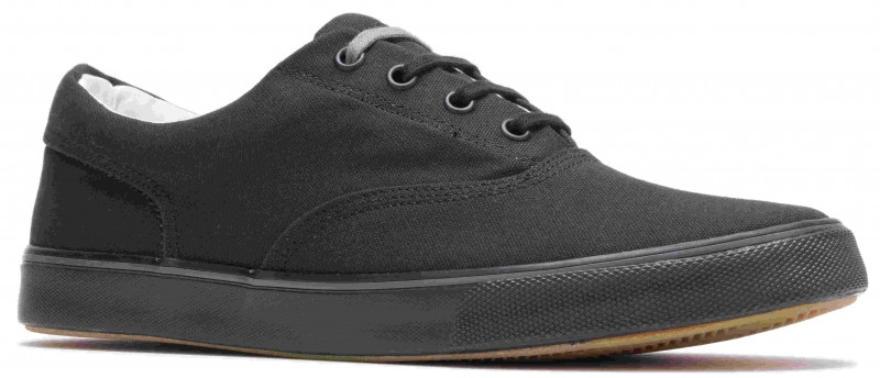 Chandler Sneaker - Black Canvas Dark Os