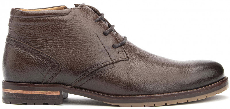Broolkin PT Oxford Boot - Brown Leather