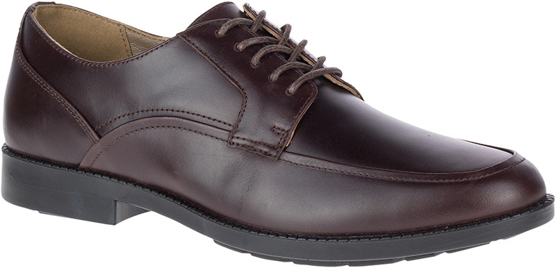 Bloodhound Oxford - Dark Brown Waterproof Leather