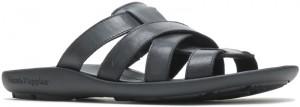 Pivot Slide - Black Leather
