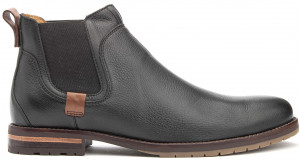 Broolkin Chelsea Boot - Black Leather