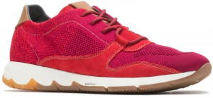 TS Field - Fiery Red Knit Nubuck