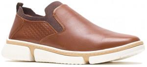 Bennet Plain Toe Slip-On - Cognac Leather