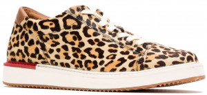 Sabine Sneaker - Leopard Calf Hair