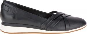 Evaro Strap Ballet - Black Leather