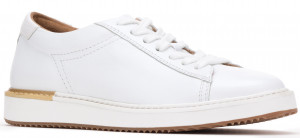 Sabine Sneaker - White Leather