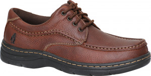 Achieve Moc Toe - Brown Leather