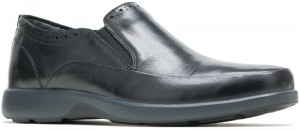 Wolfhound MT SlipOn - Black Leather
