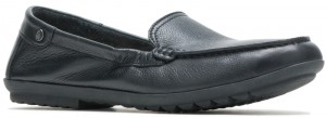 Aidi Mocc Slip-On - Black Leather