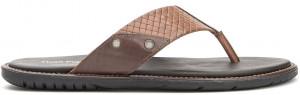 Dubai Toepost - Tan Leather