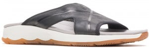 Puli Slide Black Leather